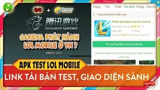 Cách tải Liên minh huyền thoại mobile bản test  - League of Legend Wild Rift || Annnguyenn