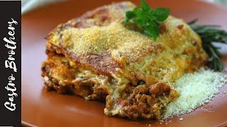 Рецепт лазаньи с соусом бешамель | Пошаговый рецепт лазаньи с фаршем