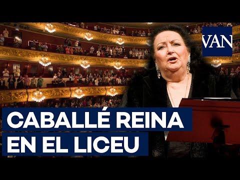 El Liceu se despide de Montserrat Caballé