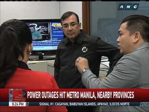 Rotating brownouts hit Metro Manila, nearby provinces