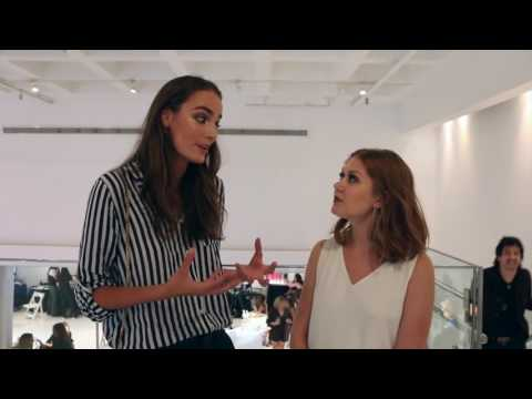 FWO Interview with NEXT Model Zuzanna Bijoch at FTL Moda