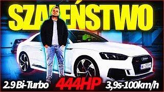 AUDI RS5 2018 POV 444HP TEST - ALE MOC!