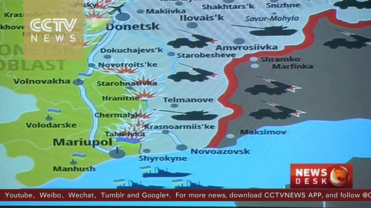 Agreement Reached To Set Demarcation Line For E Ukraine