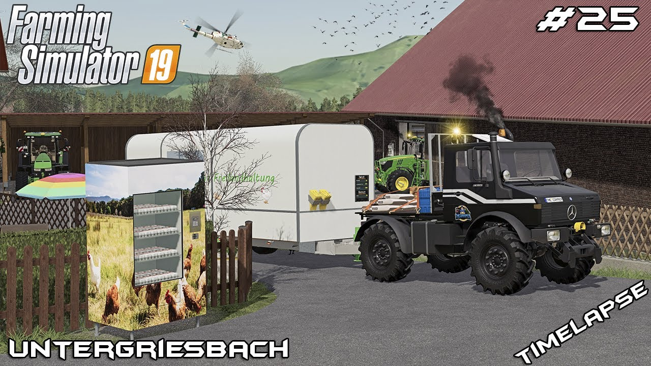Animal CARE, selling CCM and EGGS   Animals on Untergriesbach   Farming Simulator 19   Episode 25