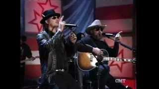 Hank Williams Jr and Kid Rock Crossroads Part 1