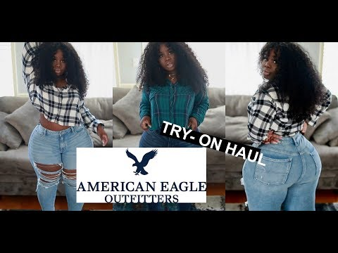 ♡ #AMERICANEAGLE #PlusSize Haul | Fall Must haves !