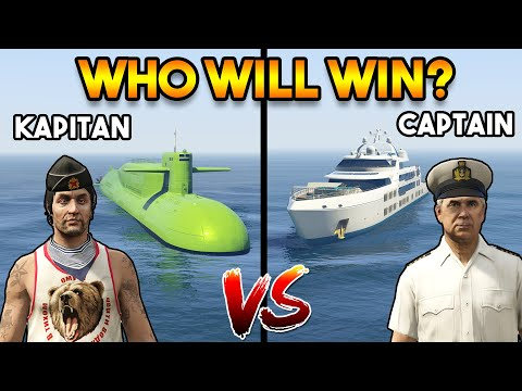 GTA 5 ONLINE : KAPITAN VS CAPTAIN (WHO WILL WIN?)