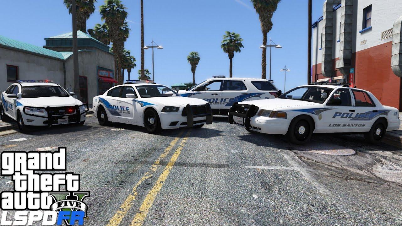 Gta 5 Lspdfr 0 3 1 Police Mod 120 New Car Pack Los