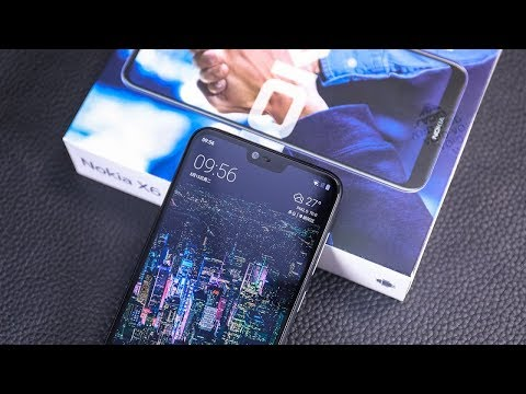 Nokia X6 with Notch Display: First Look!!!
