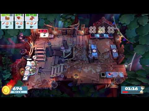 Overcooked 2 - Campfire Cook Off 2-2 (Single Player) Score: 998 |