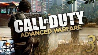 Прохождение Call of Duty: Advanced Warfare (#3 - ЦЕПНАЯ РЕАКЦИЯ) С ВЕБКОЙ