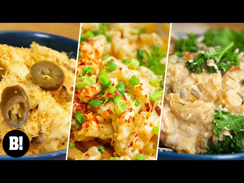 6 AMAZING MAC & CHEESE RECIPES  VEGAN  BOSH