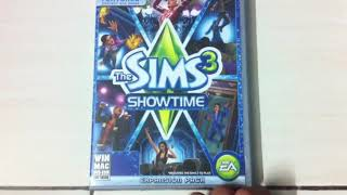 The Sims 3: Showtime - PC Unboxing