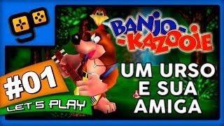 Let's Play: Banjo-Kazooie - Parte 1 - Um Urso e sua Amiga