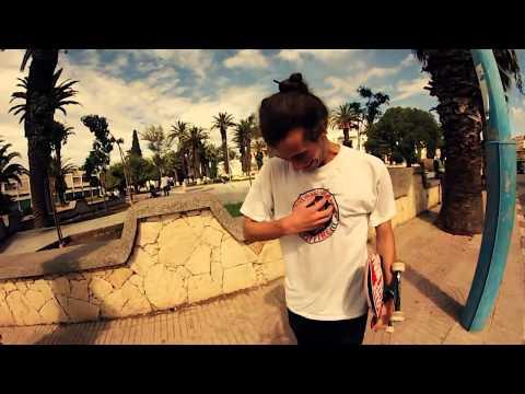 Italian skateboard team visiting Morocco by VANS