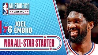 Joel Embiid 2020 All-Star Starter | 2019-20 NBA Season