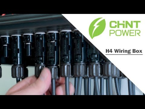 How the H4 wirebox can save time on solar inverter installations