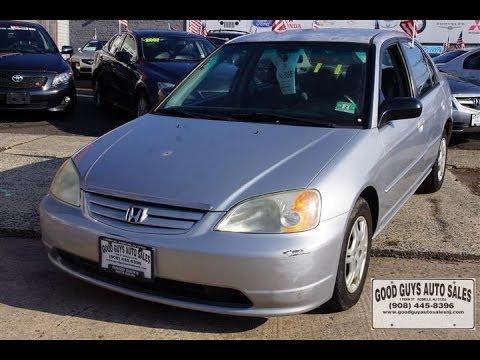 Marvelous 2002 Honda Civic LX Sedan