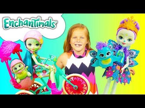 ASSISTANT visits the  Mattel Enchantimals Panda Tree House Play set