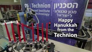 Rube Goldberg Machine Technion Israel Hanukkah 101