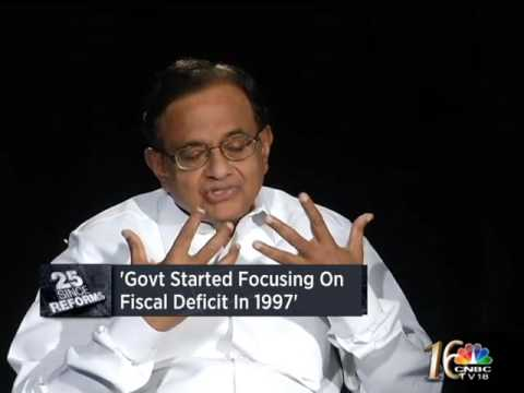 I Lost My Voice Days Before The 1997 Budget:: P Chidambaram