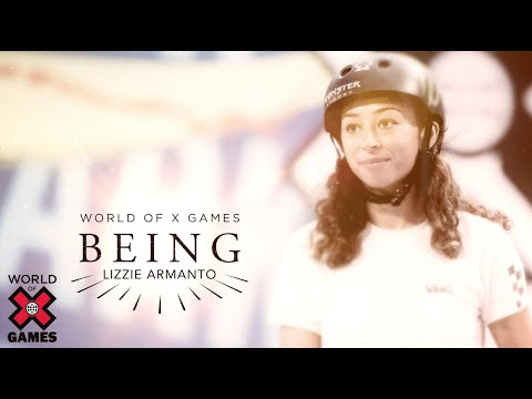 Lizzie Armanto: BEING | World of X Games