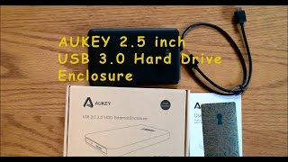 AUKEY USB 3 0 Hard Drive Enclosure
