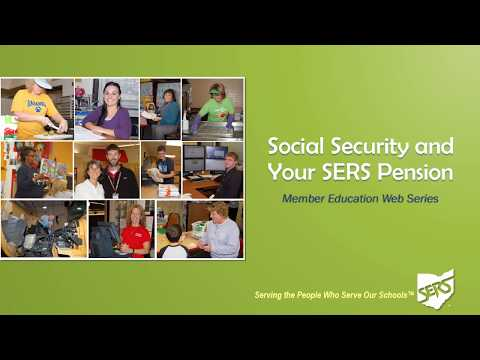Member Education Web Series: Social Security and Your SERS Pension