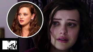13 Reasons Why - Katherine Langford On Hannah's Emotional Death Scene BEHIND THE SCENES | MTV Movies