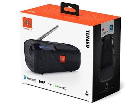 brand new jbl tuner fm portable bluetooth speaker tuner. Black Bedroom Furniture Sets. Home Design Ideas