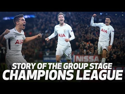UEFA CHAMPIONS LEAGUE | SPURS' GROUP STAGE STORY