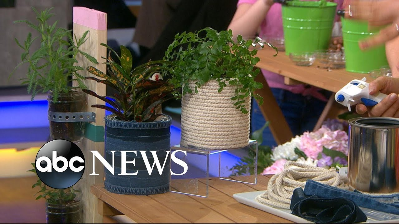 Try these DIY gardening hacks l GMA