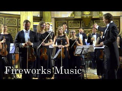 Handel: Music for the Royal Fireworks (brilliant version) Live
