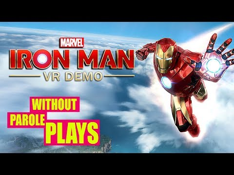 Marvel's Iron Man VR Demo | PSVR First Impressions Livestream