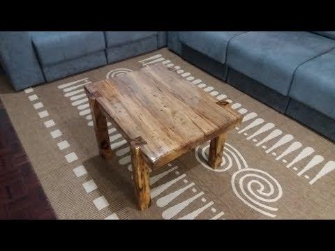 mesa de centro de demolição