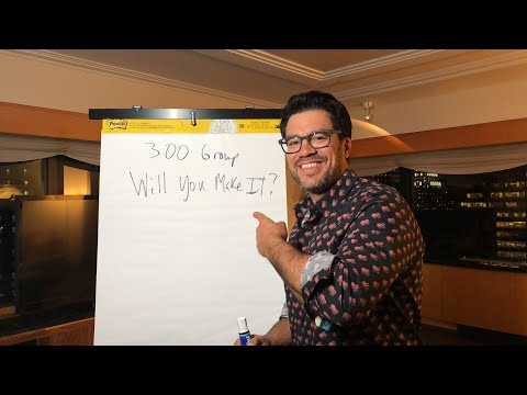 Will you be one of my 300? Tailopez.com/300youtubelive