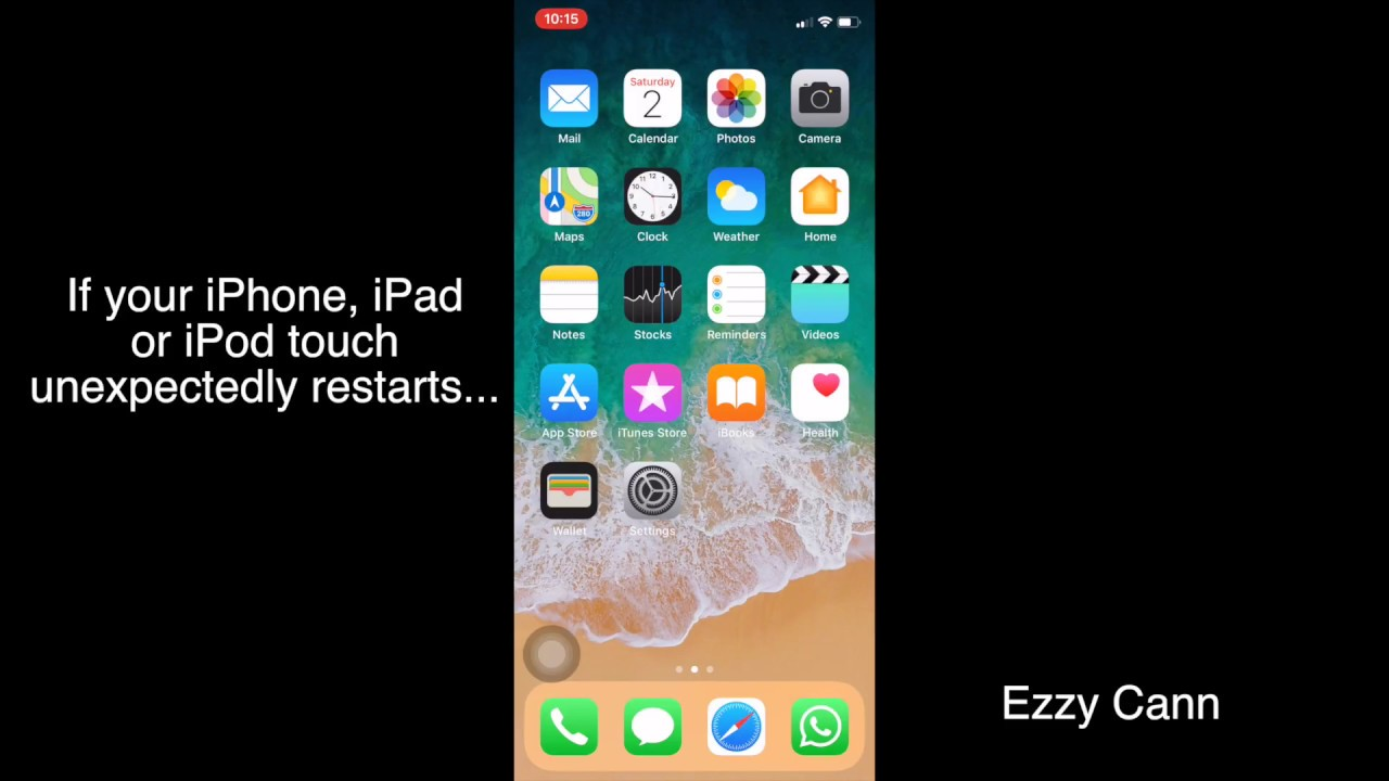 iphone restarts randomly iphone ipod touch keeps restarting issue fix 12237