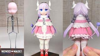 【小林さんちのメイドラゴンs】カンナ作ってみた   | 【The maid dragon of Kobayashisan】Kanna  Sculpting figures