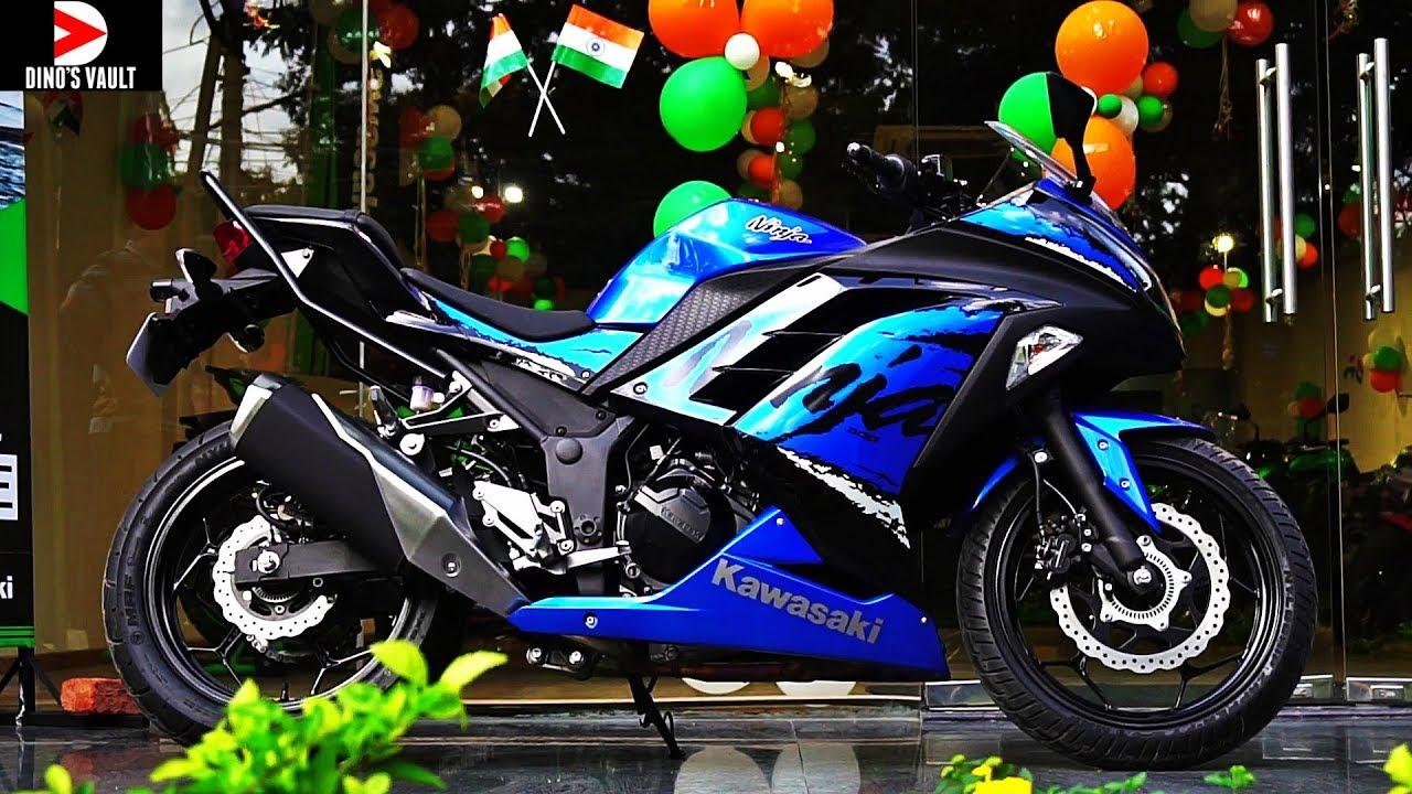 2019 Kawasaki Ninja 300 Abs Walkaround Review Whats New Bikes