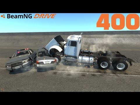 BEAMNG DRIVE #400 | FACECAM POLIZEI SPECIAL | Let