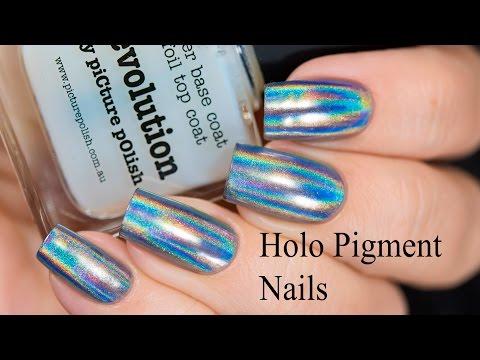 Holo Pigment Nails