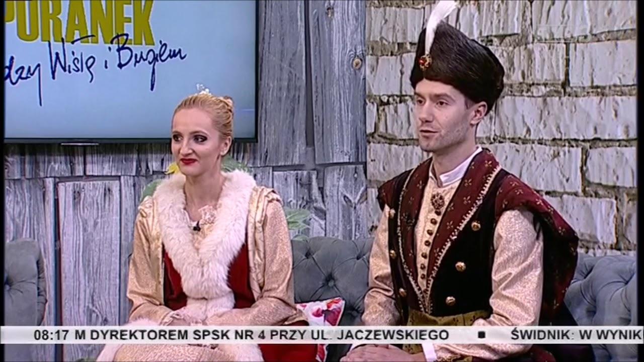 """""""Poranek z Panoramą"""" TVP 3 - """"Polonez dla Lublina 2018"""" Kaniorowcy"""
