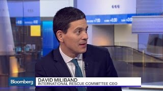 David Miliband: Brexit Poses 'Significant Risk' to U.K. Growth