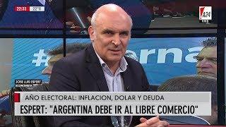 "José Luis Espert: ""Argentina debe ir al libre comercio"", con Feinmann en A24 - 04/02/19"