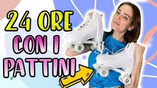 Vivo per 24 ore SUI PATTINI! ⛸️