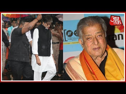 Amitabh Bachchan And Other Bollywood Celebs Attend Sashi Kapoor's Funeral