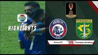 Arema FC 2 - 0 Persebaya Surabaya