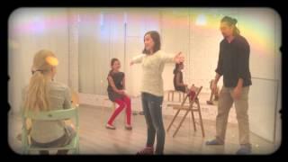 Фрагмент занятия по актерскому мастерству