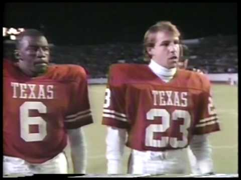NCAA Football - 1986 SWC - Thanksgiving Day - Texas Longhorns VS Texas Aggies imasportsphile.com