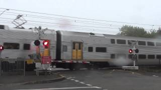 NSW Trainlink V-set passing Blackheath level crossing